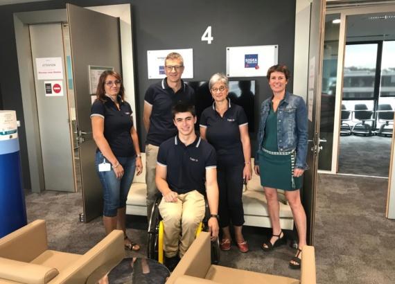 Trajeoh Vinci soutient Gaëtan Charlot dans le club des partenaires H+Sport