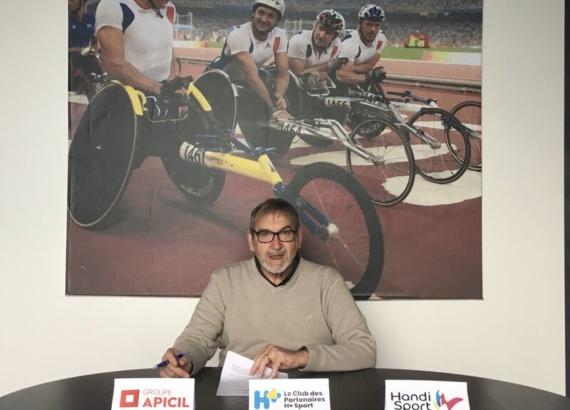 Apicil soutient la ligue Handisport
