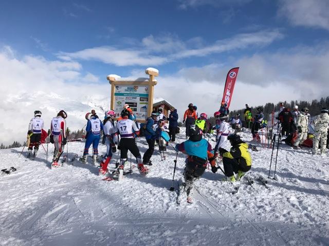 Championnats de France handisport de ski à Peisey Vallandry