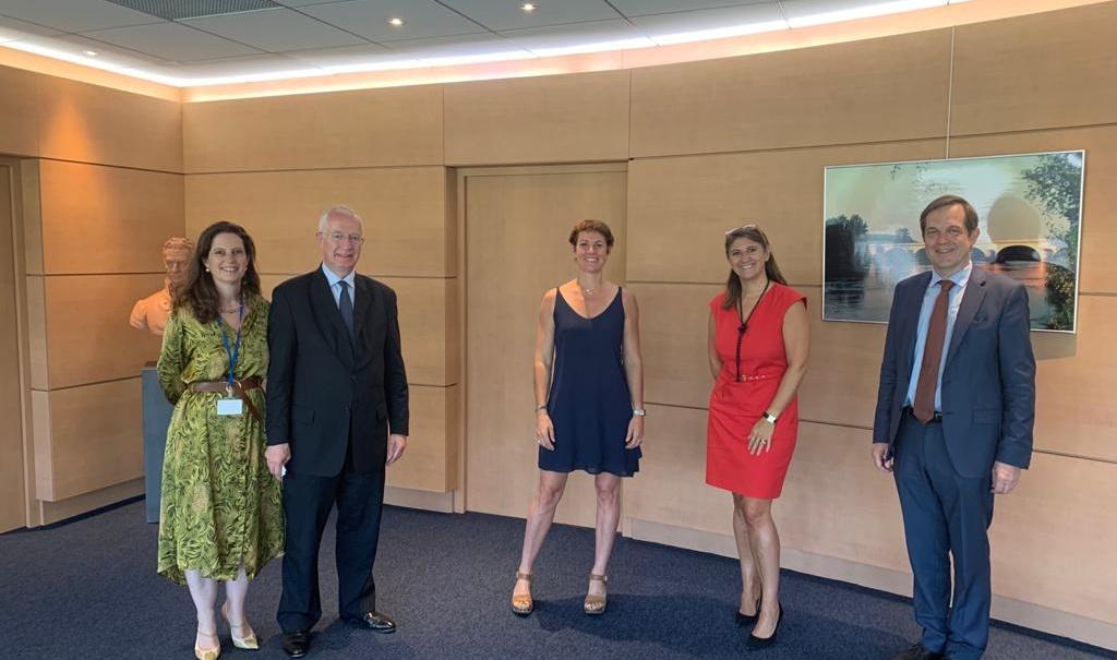 La Fondation Louis Vicat s'engage dans le club des partenaires H+Sport