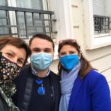 Emmanuelle Thomas, Colibri-Partners,Lucas Gebhardt Mobee Travel et Sandrine Chaix Région Aura