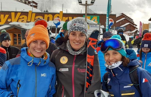 Emmanuelle Thomas, Marie Bochet et Claire Grosdidier