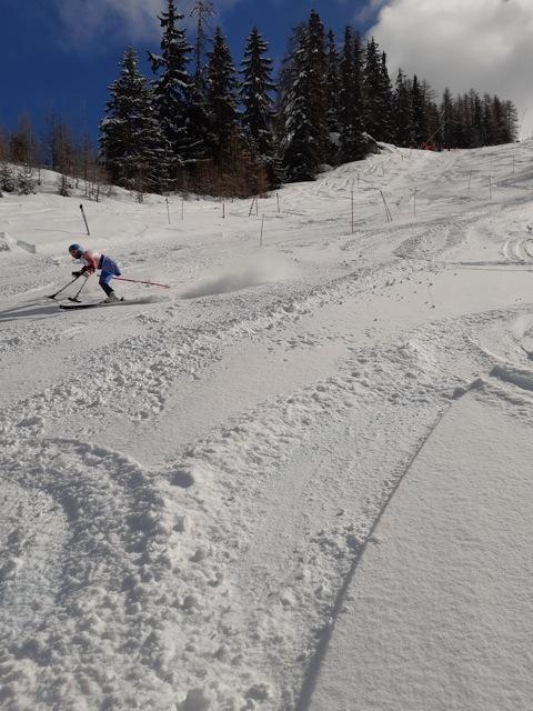 Championnat de France de ski handisport à Peisey Vallandry mars 2020