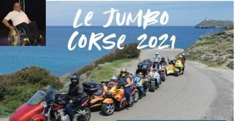 Jumbo-2021 des enfants handicapés en side-car
