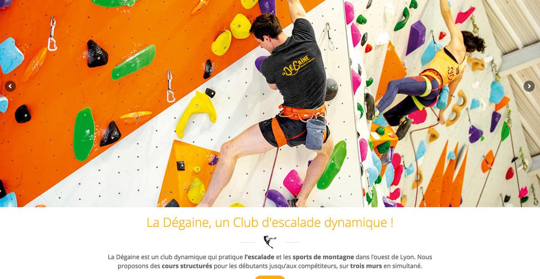 site web la DEGAINE