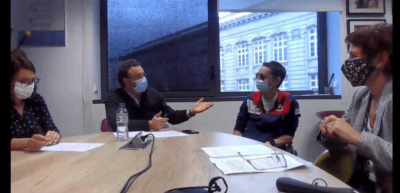 Interview de Circée peloux et Emmanuelle Thomas par Francois le Roy DG de Rex Rotary